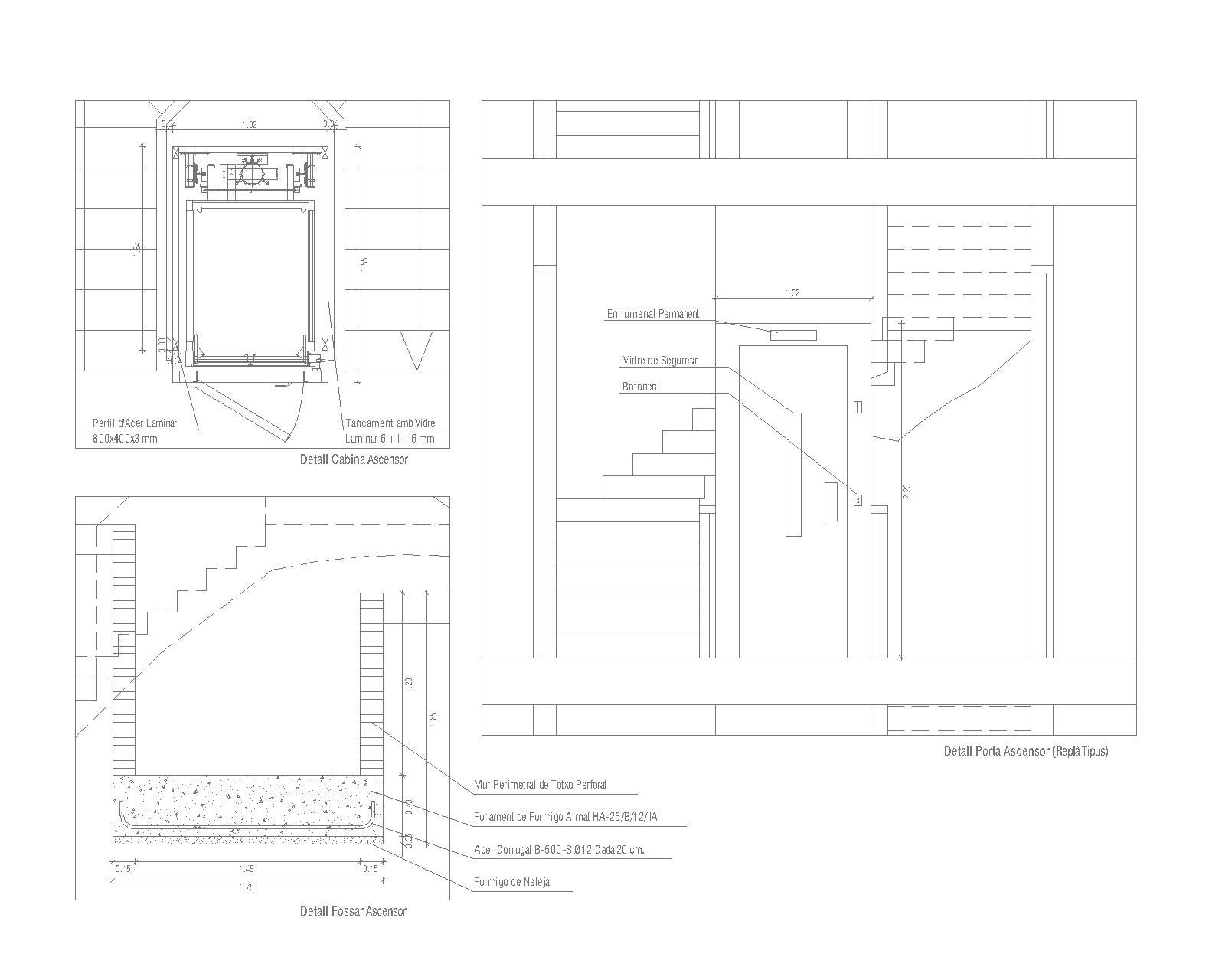11 seccions-Model